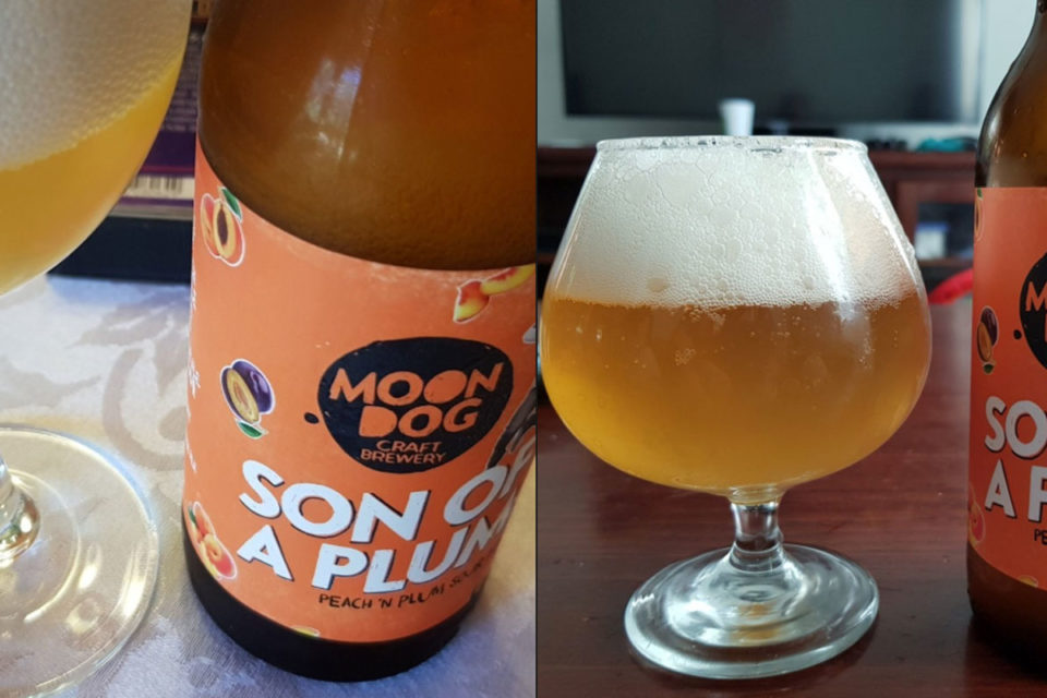 Moon Dog Recalls Son of a Plum Sour Ale